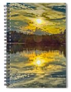 Nature Landscapes Around Lake Wylie South Carolina Spiral Notebook