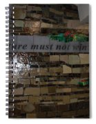 Nature Must Not Win The Game Spiral Notebook