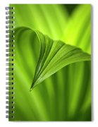 Nature Unfurls Spiral Notebook
