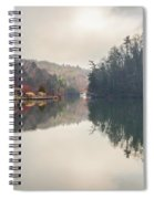 Nature Views Near Chimney Rock And Lake Lure Spiral Notebook