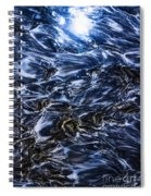 Natures Abstract Spiral Notebook