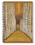 Nature's Cathedral Spiral Notebook