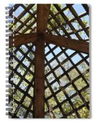 Nature's Cross Spiral Notebook
