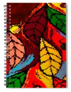 Natures Explosion Spiral Notebook