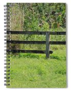Natures Fence Spiral Notebook