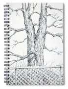 Nature's Lines Spiral Notebook