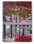 Natures Painting Spiral Notebook