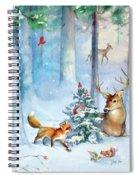 Nature's Season Spiral Notebook