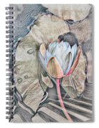 Nature's Softness Spiral Notebook