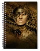 Nature's Spotted Ghost Spiral Notebook