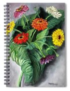 Nature's Vase Spiral Notebook
