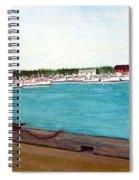 Naufrage Harbour Pei Spiral Notebook