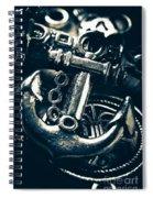 Nautic Blue Spiral Notebook