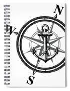 Nautica Bw Spiral Notebook