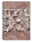 Nautical 1934 Spiral Notebook