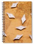 Nautical Adventure Spiral Notebook
