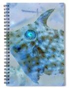 Nautical Beach And Fish #4 Spiral Notebook