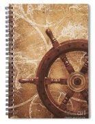 Nautical Exploration  Spiral Notebook