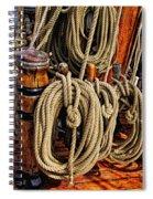 Nautical Knots 16 Spiral Notebook