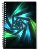 Nautical Spiral Spiral Notebook