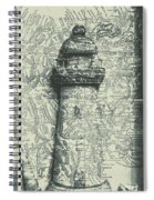 Nautical Way Spiral Notebook