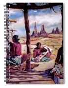 Navajo Weavers Spiral Notebook