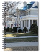 Naval Academy - Captains Row Spiral Notebook