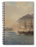 Naval Battle Of The Strait Of Shimonoseki Spiral Notebook