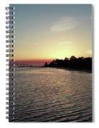 Navarre Florida Sunset Spiral Notebook