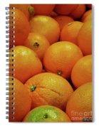 Navel Oranges Spiral Notebook
