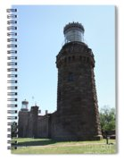 Navesink Twinlights Spiral Notebook