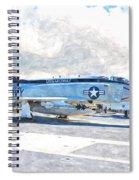 Navy Aircraft Spiral Notebook