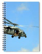 Navy Helicopter Spiral Notebook