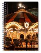 Navy Pier Merry-go-round Chicago Il Spiral Notebook