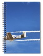 Navy W W I I  T-28 Trainer Spiral Notebook