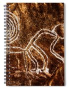Nazca Monkey Spiral Notebook