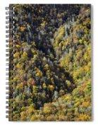 Nc Fall Foliage 0544 Spiral Notebook