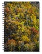 Nc Fall Foliage 0559 Spiral Notebook