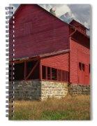 Nc Red Barn Spiral Notebook