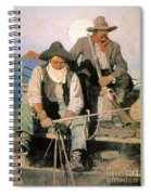 N.c. Wyeth: The Pay Stage Spiral Notebook