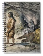 Neanderthal Man Spiral Notebook