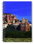 Near El  Morro National Monument Spiral Notebook