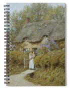 Near Freshwater Isle Of Wight Spiral Notebook