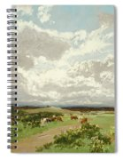 Near Liverpool. New South Wales Spiral Notebook