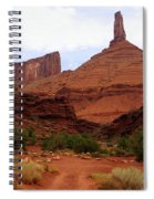 Near Moab 5 Spiral Notebook