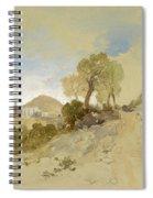 Near San Francisco, Mexico, March 1, 1883 Spiral Notebook