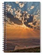 Near Sunset Spiral Notebook