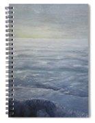 Near The Shoreline At Dusk Spiral Notebook