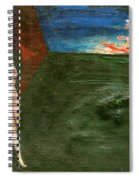 Near Wall II Spiral Notebook