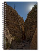 Nearing The Slot Canyon - Tent Rocks Spiral Notebook